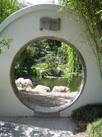 The Moon Gate Picture Of Chinese Garden Of Friendship