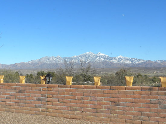 Tubac, AZ: View from dining room