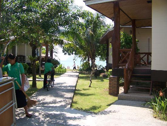 Phi Phi Villa Resort: Uitzicht vanuit de bungalow