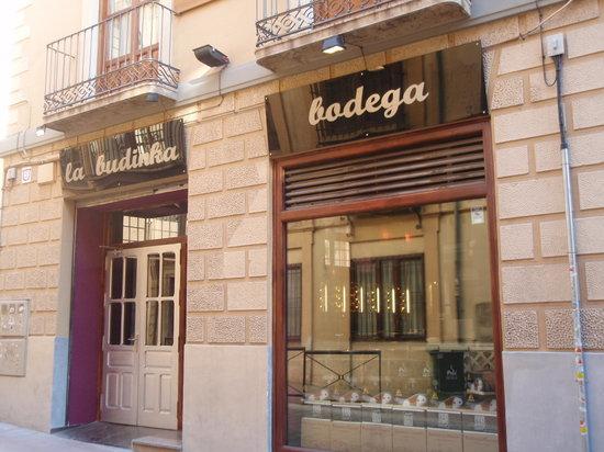 La Budinka: fachada