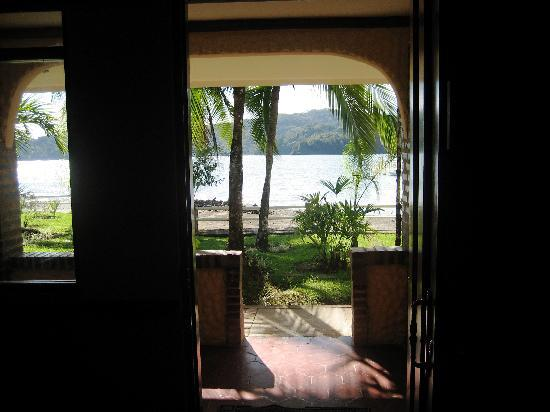 Hotel Las Gaviotas: view from inside room looking out
