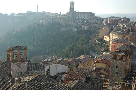 Ostello di Perugia: View from the dorm window, amazing!