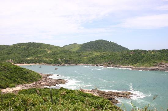 Pousada Vila Pitanga: praia da ferradura