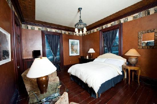 Taylor House Bed and Breakfast: Haffenreffer Room