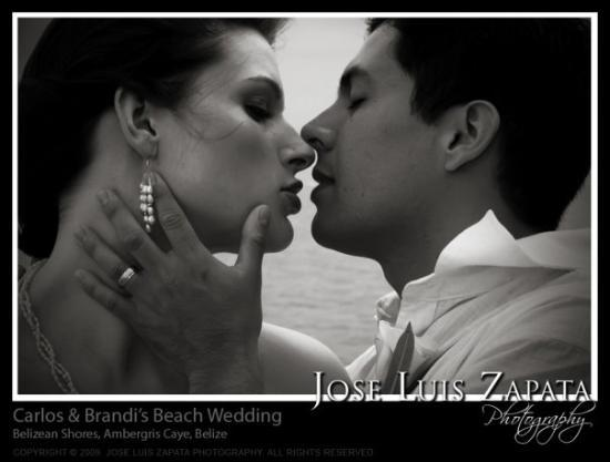 Belizean Shores Resort: Ambergris Caye, Belize Beach Wedding
