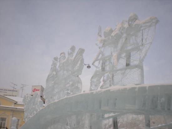 Ekaterimburgo, Rusia: La città di ghiaccio