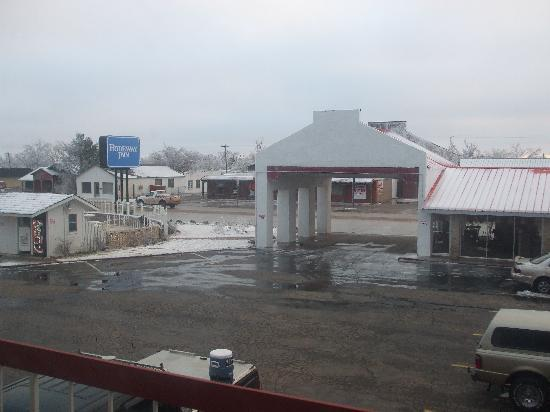 Motel 6 Childress: View from Room 205