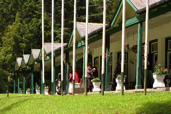 Nuwara Eliya Golf Club: Verandah Bar - N.E. Golf Club - Sri lanka
