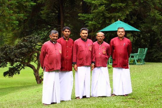 Nuwara Eliya Golf Club: golf club Staff - Newara eliay - Sri Lanka