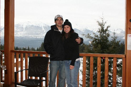 Mount 7 Lodges: balcony