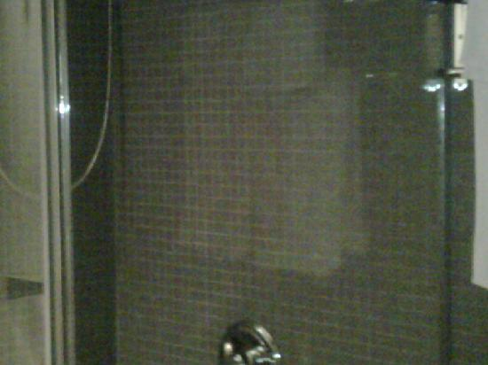 The Rex Hotel: new shower