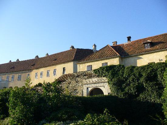 Bernstein, Austria: Approaching the Castle
