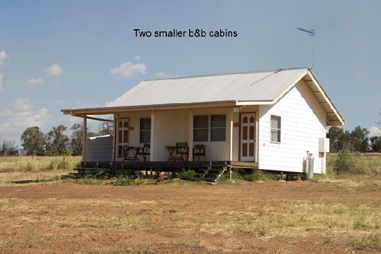 Maclagan, Αυστραλία: two B&B cabins