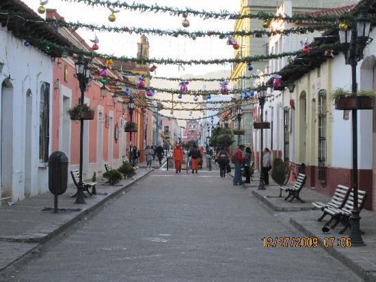 Hotel Casa Mexicana : amanecer en el valle de Jovel