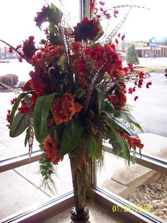 James Manor: Lobby Flower Arrangement
