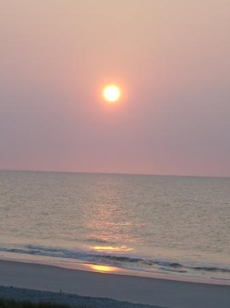 Garden City Beach, Güney Carolina: sunrise