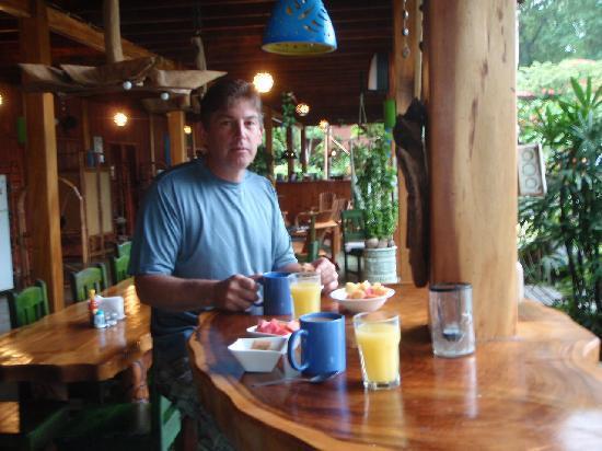 Hotel Banana Azul: breakfast at Banana Azul