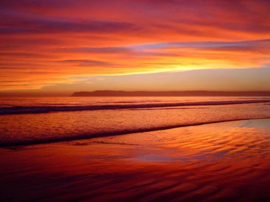 Savor Morocco: Beautiful sunset