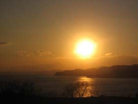 Minshuku Nanpuso : 夕陽がきれいです