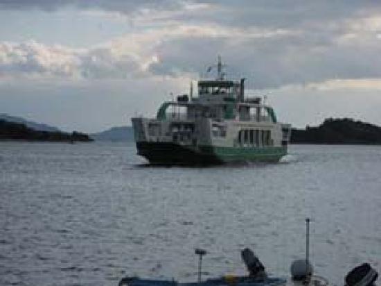 Minshuku Nanpuso : 船は5分ほど乗るだけです