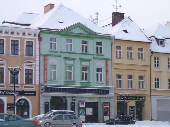 restaurant u radnice, marketplace of hradec kralove