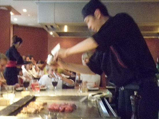 Stamford Plaza Auckland: Kabuki Teppanyi is a strongly recommended MUST GO!