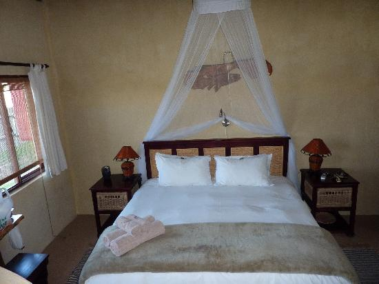 Elephants Footprint Lodge: Great bed!