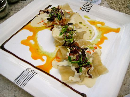 Food - Grand Velas Riviera Maya: Ravioli dish at Bistro