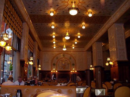 Art Deco Hotel Imperial: Café Imperial. Desayunos.