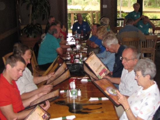 River Grille : Some attending lunch