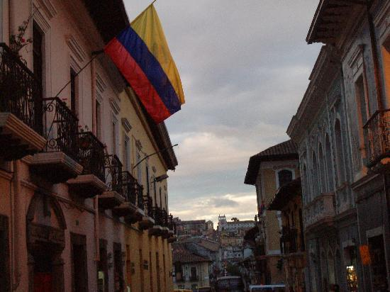 Quito Old Town: Old town streets
