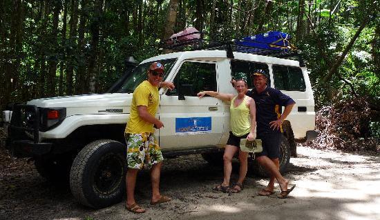 Noosa Safaris: Tim and us