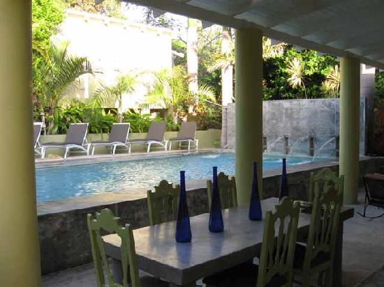 Palm Cottages: Pool Cottage Veranda