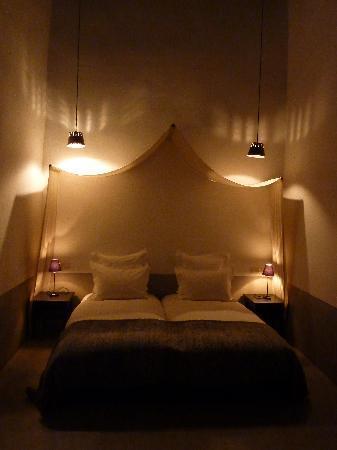 Zaouia 44: Nuestra habitación (patio)