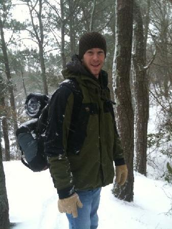 First Landing State Park: me on the Osprey trail