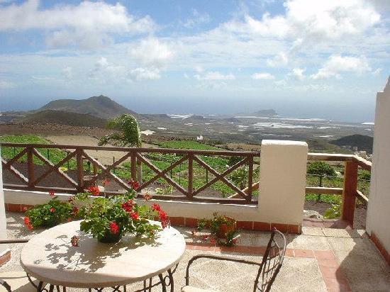 Finca Vista Bonita: vistas desde nuestra terraza