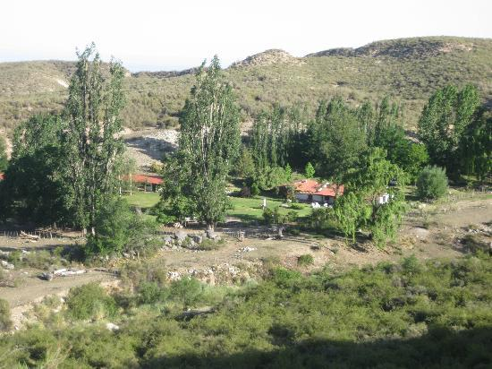 Tupungato, Argentina: View of El Puesto from horseback ride