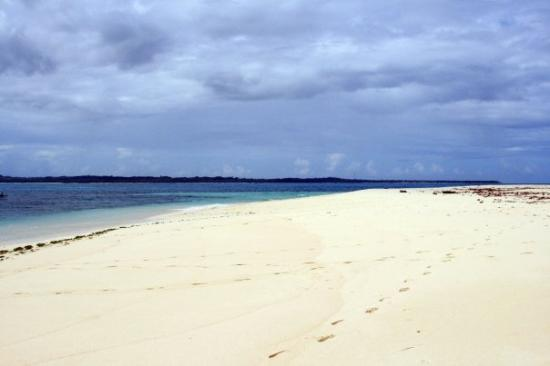 Siargao Island, Filipinas: Shore of Dako