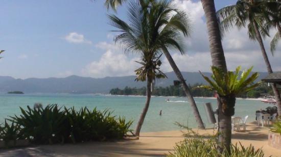 Chaba Cabana Beach Resort: Vy från frukostbordet
