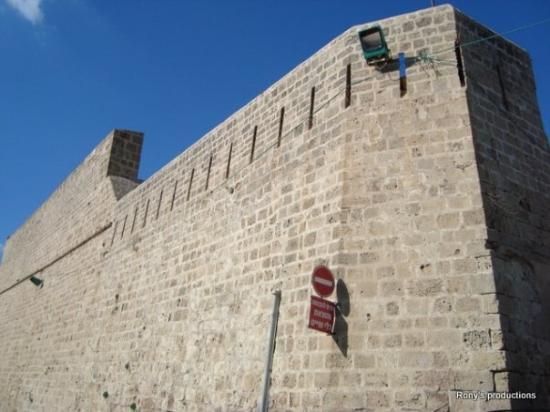 عكا, إسرائيل: Muro de Akko