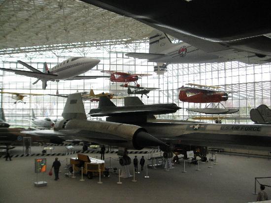The Museum of Flight: 展示室