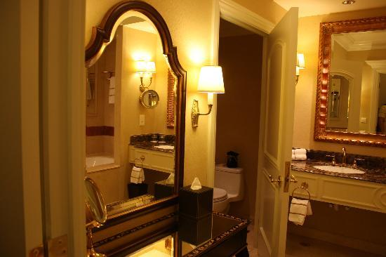 Beautiful washroom picture of the venetian macao resort for Beautiful washrooms