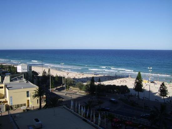 Surfers International: great view from balcony