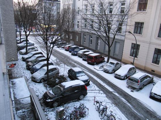 EU Centralhotel Im Tonnchen : Blick auf die Strasse vom Hotelzimmer