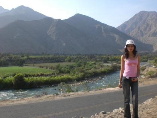 Lunahuana, Peru: Misa San Jerónimo...jajjaja