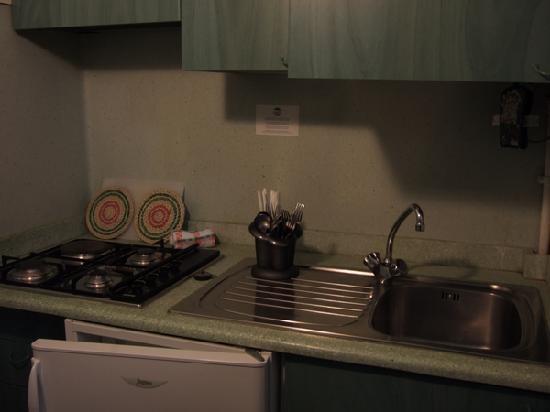 Boboba Il Villaggio: Kitchen corner