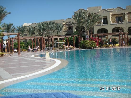 Jaz Makadi Star & Spa: Très belle piscine - chauffée hors saison