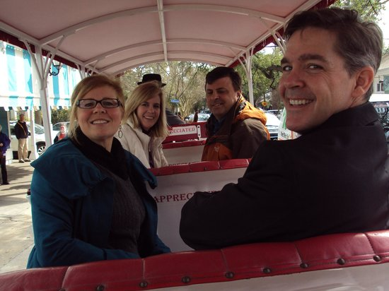 Michaela's Tours: Riding on the carriage