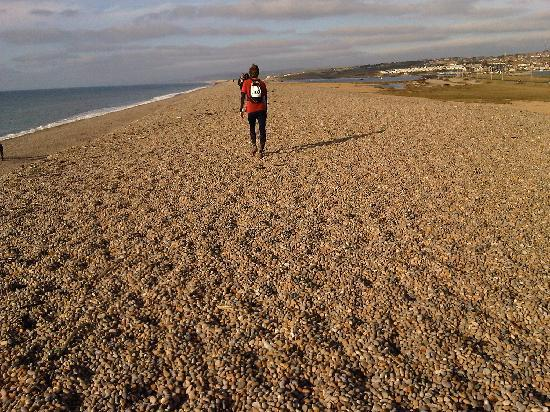 Seventyseven Bed and Breakfast : I ran 2 miles along Chisel Beach in the race