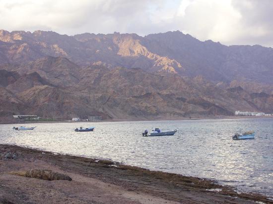 Dahab Paradise as seen from Dahab